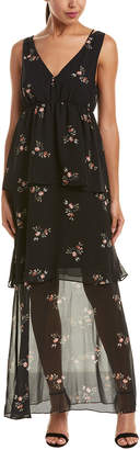 BCBGeneration Tiered Maxi Dress