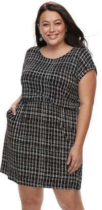 Apt. 9 Plus Size Cinched T-Shirt Dress