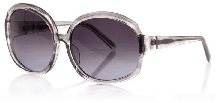 CHRISTIAN ROTH - Grey smokey rim glasses