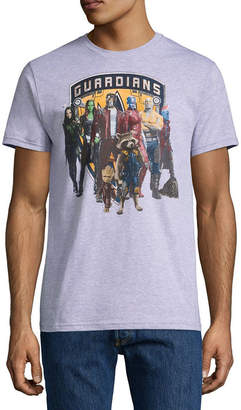 Novelty T-Shirts Guardians of the Galaxy Group Line Up Graphic Tee