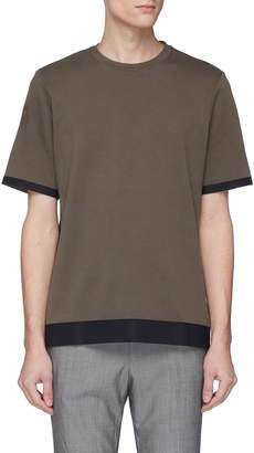 Theory Contrast border T-shirt