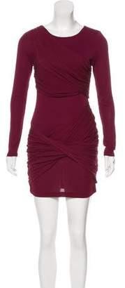 Alice + Olivia Silk Long Sleeve Mini Dress w/ Tags
