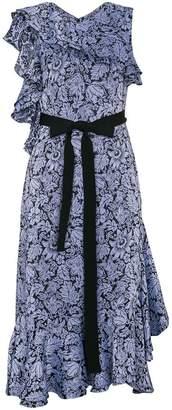 Erdem Floral Jacquard Midi Dress