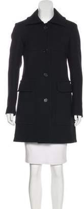 Derek Lam Single-Breasted Knee-Length Coat