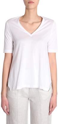 Fabiana Filippi V Collar T-shirt