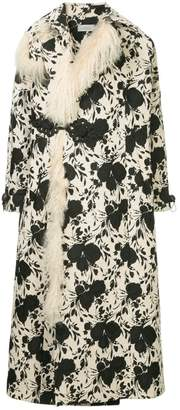 Preen by Thornton Bregazzi Liza floral oversize coat