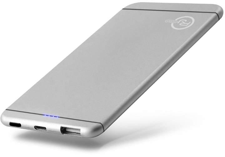 Power 5,000mAh Ultra Slim Power Bank - Silver