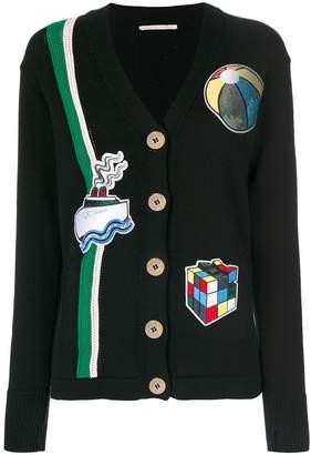 Marco De Vincenzo patch cardigan