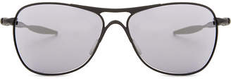 Oakley Oo4060-03 black Iridium Crosshair ® square-frame sunglasses