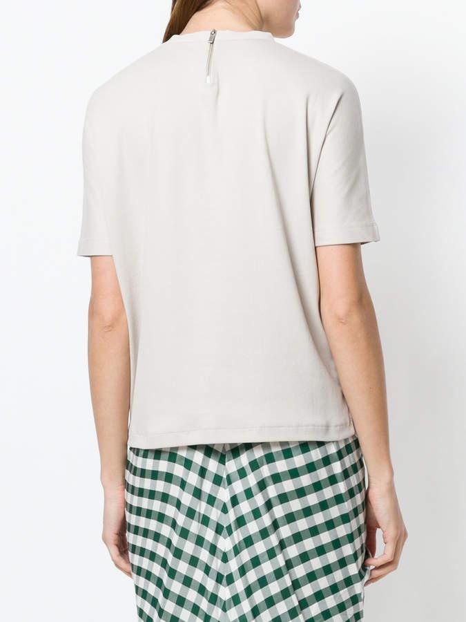 Fabiana Filippi gem embellished collar blouse