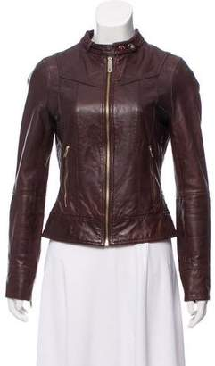 Ted Baker Leather Moto Jacket