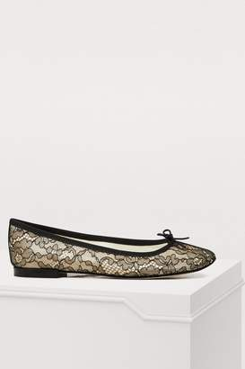 Repetto Cendrillon lace ballet flats