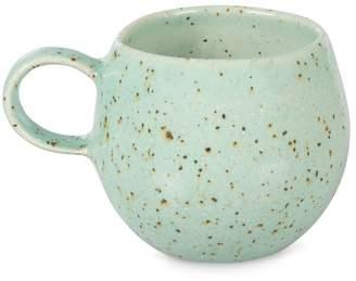 Oliver Bonas Clara Turquoise Ceramic Espresso Cup