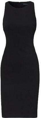 Ralph Lauren Lauren Color-Blocked Ponte Dress $155 thestylecure.com