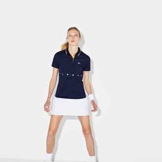 Lacoste Women's SPORT Collar Pique Tennis Polo