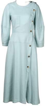 REJINA PYO Blue Linen Dresses