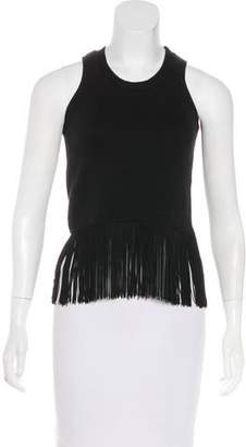 Timo Weiland Fringe-Trimmed Sleeveless Top