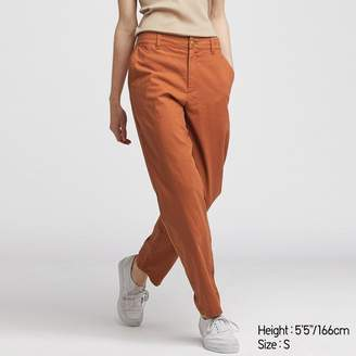 Uniqlo WOMEN Linen Cotton Tapered Pants