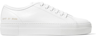 Common Projects Tournament Leather Sneakers - White