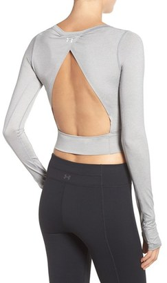Women's Under Armour 'Wishbone' Open Back Top $59.99 thestylecure.com