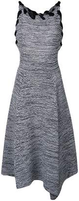 Salvatore Ferragamo woven neck dress