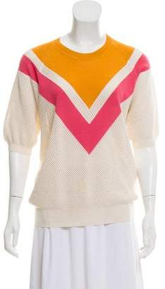 Stella McCartney Knit Short Sleeve Top