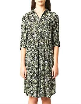 Kate Sylvester Paisley Shirt Dress