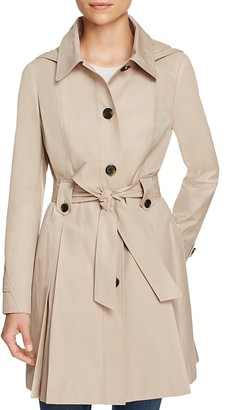 Via Spiga Hooded Trench Coat $185 thestylecure.com
