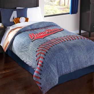 Kohl's Baseball Reversible Comforter Set