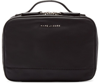 Marc Jacobs Black Extra-Large Mallorca Cosmetic Case $165 thestylecure.com