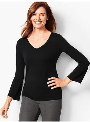 Talbots V-Neck Cashmere Sweater