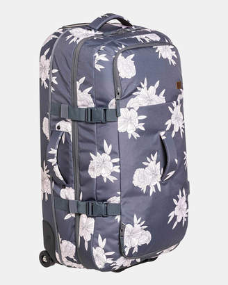 Roxy Fly Away Too Large Wheeled Suitcase Travel Bag