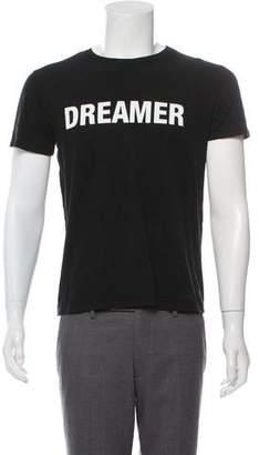Yang Li Printed Crew Neck T-Shirt