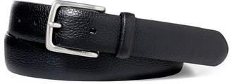 Ralph Lauren Pebbled Leather Dress Belt