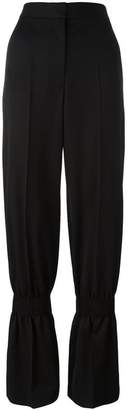 Stella McCartney tailored gathered leg trousers