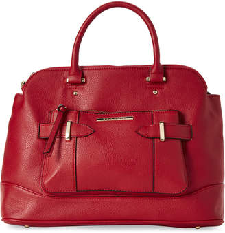 Steve Madden Red Lorraine Belt Satchel