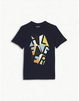 Offspring Logo print cotton T-shirt 4-16 years