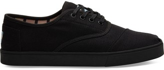 Toms Black on Black Heritage Canvas Mens Cordones