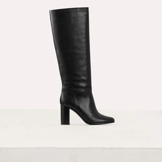Maje Heeled mid-height leather boots