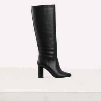 Maje Heeled leather booties