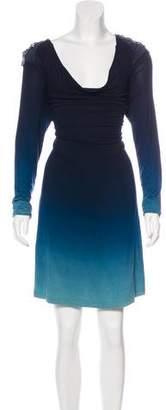 Young Fabulous & Broke Embellished Ombré Dress