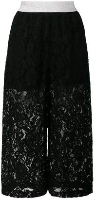 I'M Isola Marras cropped lace trousers