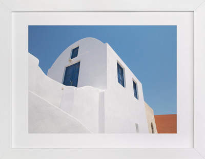 whitewashed Art Print