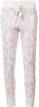 Baja East leopard print sweatpants