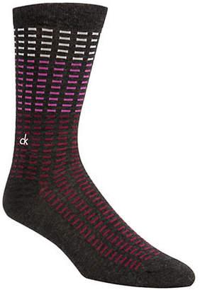 Calvin Klein Allover Tiles Crew Socks