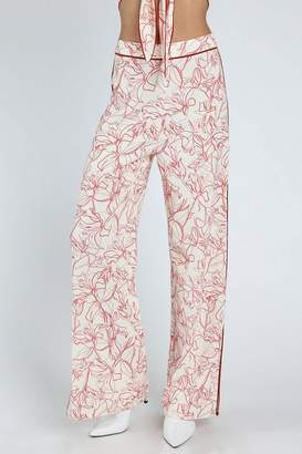 Honey Punch **White Red Western Pants
