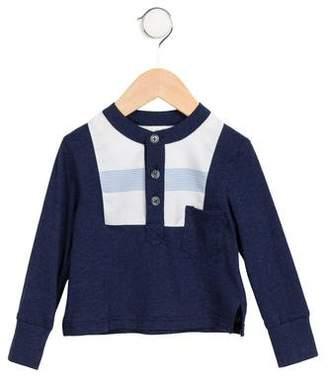 Tia Cibani Boys' Long Sleeve Henley Shirt w/ Tags