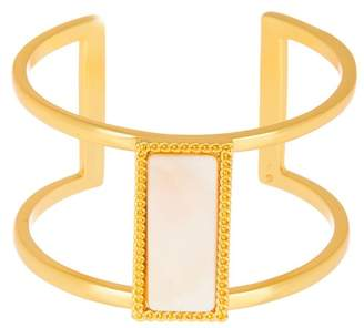 Vince Camuto Mother of Pearl Cuff Bracelet