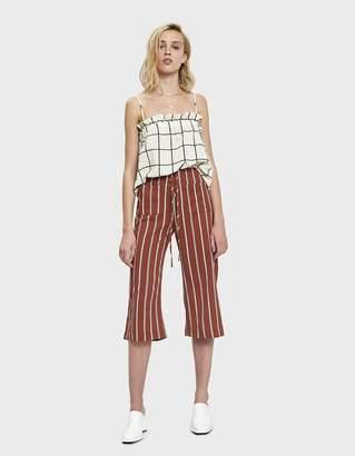 Nessa Stelen Stripe Lace-Up Pant