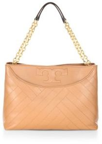 Tory Burch Tory Burch Alexa Lamb Leather Convertible Shoulder Bag
